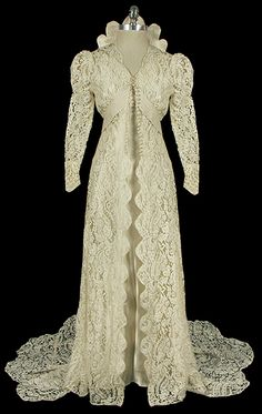 Wedding Dress 1930s The Frock