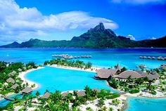 I haven't found prince charming yet, but I've found my honeymoon destination. We WILL be going to Bora Bora!! <3