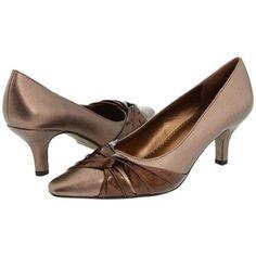 Bella-Vita Geyser II High Heels - Bronze Metallic/Satin