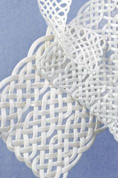 Use charmeuse cord to make elegant pockets, collars, or cuffs.