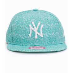 New Era Lace And Snap Neyyan ($62) ❤ liked on Polyvore featuring accessories, accessories miscellaneous, sky and womens-fashion