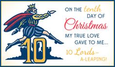 Free 10 Lords eCard - eMail Free Personalized Christmas Cards Online