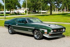 1971 Ford Mustang Boss 351 5.8L