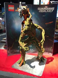 LEGO Rocket & Groot at San Diego Comic-Con