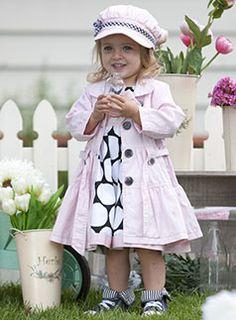 pretty little coat and dress