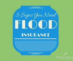 5 Signs You May Need Connecticut Flood Insurance http://www.paradisoinsuranceblog.com/5-signs-need-connecticut-flood-insurance-policy/ #ParadisoInsurance