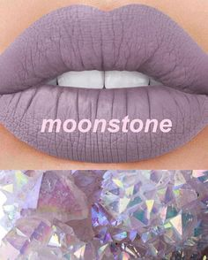 #Halloween is just around the corner and we've got 2 new spooky shades for you! MOONSTONE: moonstone grey This shade is Limited Edition, once it's gone it's dead forever!!! ⚰ Dying for it? Subscribe to be notified on limecrime.com/velvetines