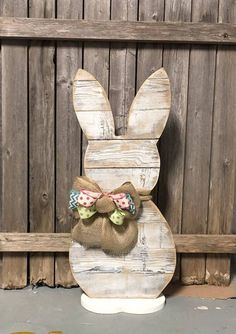 Excited to share this item from my shop: White Wash Wood Standing Bunny - . Excited to share this item from my shop: White Wash Wood Standing Bunny - Farmhouse 31 inch Bunny - Reclaimed Wood - Front Porch Decor Easter Projects, Easter Crafts, Craft Projects, Easter Decor, Easter Bunny Decorations, Wood Projects, Woodworking Projects, Spring Crafts, Holiday Crafts