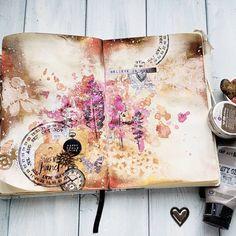 Art journal spread art journal prompts, art journal pages, journal Art Journal Pages, Art Journals, Junk Journal, Bullet Journal, Art Journal Prompts, Journal Layout, Madeleine Of Sweden, Collages, Collage Art