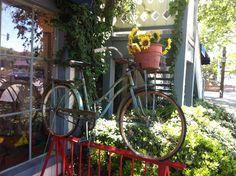 Bike in Solvang, CA