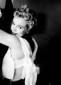 Marilyn Monroe photographed by Milton Greene, 1956.