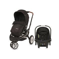 Mothercare Xpedior 4 Wheel Pram & Pushchair Travel System (2015 Model)