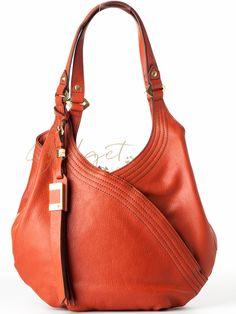 407dbb4d8d Gidget Loves this orYany Tracy brick red shoulder bag