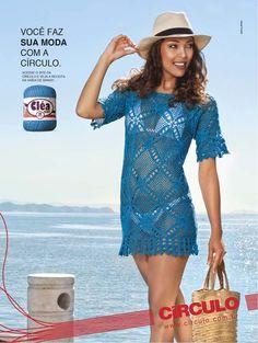 Saída de Praia - Revista Manequim com grafico