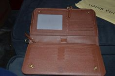 20108b5acb3ba Lv Monogram Canvas Leather Trim Organizer Insolite (M66566) Wallet
