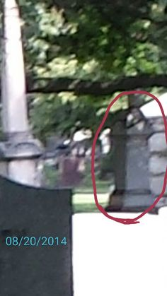 Picture taken with my cell phone at Rosehill Cemetery in Chicago, Illinois. I caught  the ghosts of two women long dresses.They are like posing for the camera.