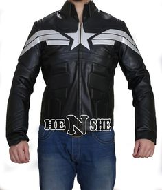 Captain America Jacket is proudly presented by HensheLeather, which is manufactured by Top Quality Material. So, buy Chris Evans Silver Stripe Star Jacket now and also get Free Gift #Captain america #Winter Soldier #Winter jacket #Winter Costume #Movie Jacket #Celebrity Jackets #Captain America Jacket, #Winter Soldier jacket