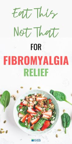 The best diet for fibromyalgia sufferers. What to eat and what to avoid for relief from debilitating symptoms. Fibromyalgia Pain Relief, Fibromyalgia Diet, Fibromyalgia Treatment, Fibromyalgia Quotes, Diet Recipes, Healthy Recipes, Eat Healthy, Diet Supplements, Anti Inflammatory Recipes