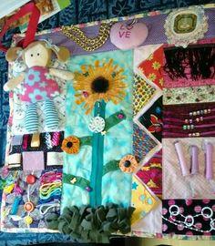 Fidget Mat #Stagesofdementia Sewing Crafts, Sewing Projects, Craft Projects, Projects To Try, Diy Crafts, Sewing Ideas, Sewing Tips, Sewing Hacks, Sewing Patterns