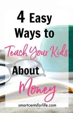 Learning about money since little will give your kids the basics on how to handle financial situations and proper spending habits later in life. Kids and Money  | Family Finances  | Money lessons | Making Money | Saving Money | Kids Ideas | Children Activities