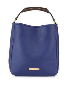 Softy+Saddle+Large+Hobo+Bag,+Ultra+Blue+by+MARC+by+Marc+Jacobs+at+Neiman+Marcus.