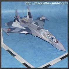 Sukhoi Su-30 Flanker-C Fighter Free Aircraft Paper Model Download - http://www.papercraftsquare.com/sukhoi-su-30-flanker-c-fighter-free-aircraft-paper-model-download.html