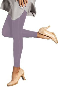 Preggers Light Compression Support Fashion Color Maternity Footless Tights | Maternity Clothes www.duematernity.com