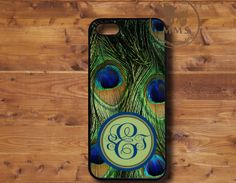 Monogram iPhone 5 Case iPhone 4/4s Samsung Galaxy by MayMoonStudio, $13.99