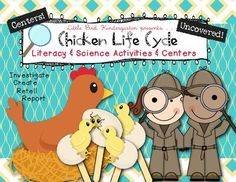 Chicken Life Cycle Uncovered! Literacy & Science Activities $