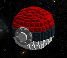 Lego PokeBall Build Instructions by IconoKlasm.deviantart.com on @deviantART