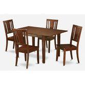 """$650 Table: 48"""" - 60"""" L x 32"""" W x 30"""" H • Chair: 38.5"""" H x 17"""" W x 17"""" D Found it at Wayfair - Picasso 5 Piece Dining Set"""