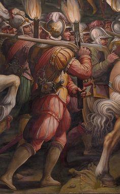 Vasari Storming of Fortress near Porta Camolli 1550-60 @James Gibbons