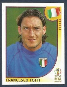 world cup panini korea japan 2002 - F.Totti