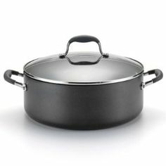 Anolon Advanced Nonstick 7.5 qt. Covered Wide Stockpot by Meyer Corp. $57.50. Warranty: Limited Lifetime. Size/Capacity: 7.5-qt.. Material: Hard Anodized Aluminum. Cleaning & Care: Handwash Recommended. Origin: Thailand. The Anolon Advanced Nonstick 7.5 qt. Covered Wide Stockpot is the perfect vessel for any stew, soup, or stock. This versatile pot is made of anodized aluminum and slick, nonstick interior. Its tempered glass lid fits snugly, and silicone-covered handles o...