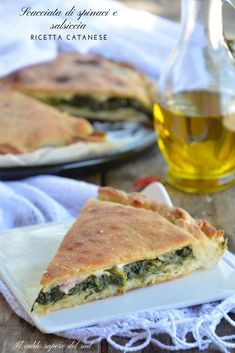 Finger Food Appetizers, Finger Foods, Appetizer Recipes, Beer Recipes, Cooking Recipes, Focaccia Pizza, Spinach Egg, Good Food, Yummy Food