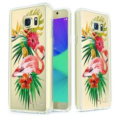 Tropical Flamingo Slim Protective Case for Galaxy Note 5