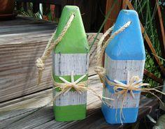 Buoy  wooden  with Starfish Nautical Wedding Table Coastal Decor Nursery. $24.50, via Etsy.