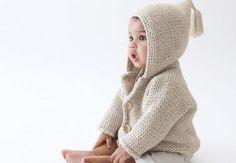 Un gilet à capucheTricotez cegilet à capuchepour bébé qui lui tiendra chaud pour l'hiver et fera un beau cadeau de Noël.Retrouvez tous nos modèles de tricot pour bébés