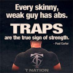 "Marco Borner %ℹ️ on Instagram: ""Every skinny, weak guy has abs. Traps are true sign of strength - Bodybuilding / Fitness / Salute e Benessere Ticino e Italia  …"""