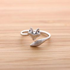 Woodland Creature Rings : fox ring