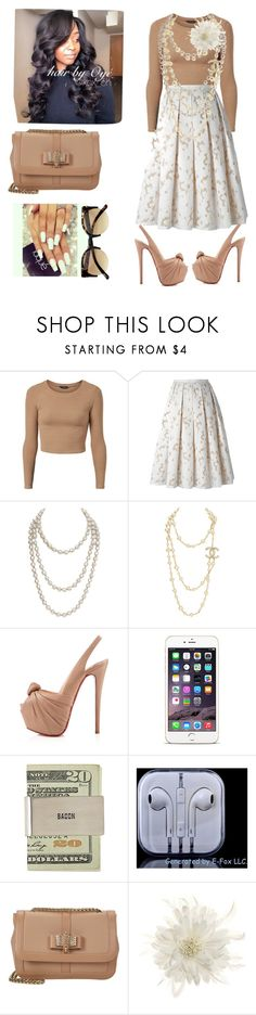 """""""Untitled #426"""" by cogic-fashion ❤ liked on Polyvore featuring Michael Kors, Chanel, Christian Louboutin and Tasha"""