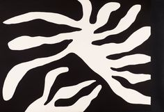 William Turnbull 'Black Leaf Form', 1967 © William Turnbull. All Rights Reserved, DACS 2014