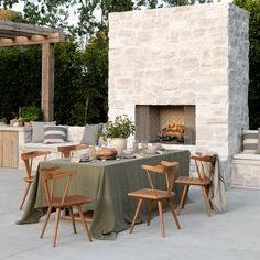 Outdoor Dining Chairs, Indoor Outdoor Living, Outdoor Seating, Outdoor Furniture Sets, Outdoor Decor, Outdoor Spaces, Backyard Seating, Outdoor Retreat, Dining Table