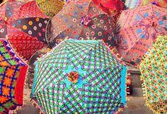 #umbrellas #Moroccan