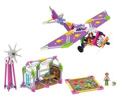 K'NEX Mighty Makers - Up and Away/Runway Designer/Going Green Building Sets and thousands more of the very best toys at Fat Brain Toys. Choose one of three build sets where you can either learn about aerodynamics and flight or botany! Build a prop plane, a green house, or a fashion show runway. There are so many ways to build and learn!