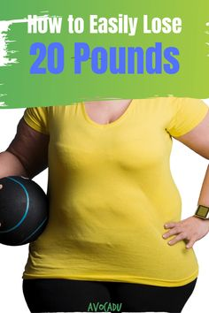 How to Lose 20 Pounds Easily Losing Weight Tips, Weight Loss Tips, How To Lose Weight Fast, Weight Loss Program, Weight Loss For Women, Fast Weight Loss, Weight Loss Challenge, Losing 10 Pounds, 20 Pounds