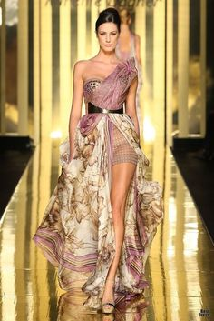 Mireille Dagher Couture Spring 2013
