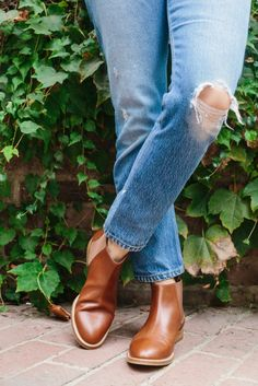 Our Saddle Leather Shoes, Styled by Jenni