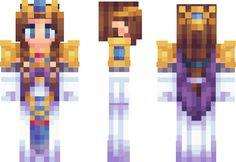 Princess Zelda Minecraft Skin