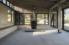 Diseño de interiores rústico casa de campo